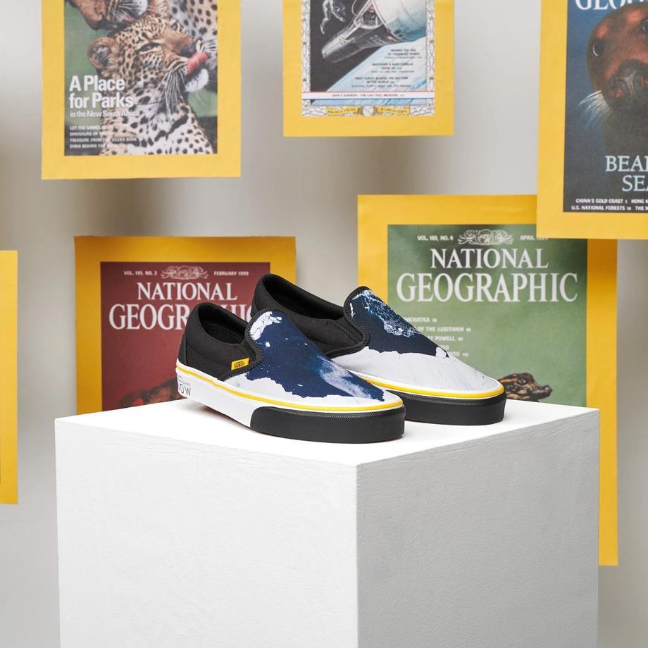 上脚照 | 《National Geography 国家地理》x Vans 联名系列-Vans爱好者